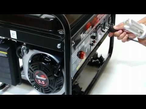 Aluguel de gerador à gasolina de 5 kva