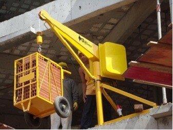 Aluguel de mini grua de 500 a 01 toneladas