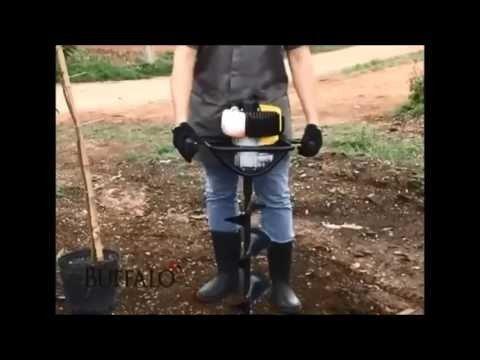 Locação de perfurador de solo a gasolina